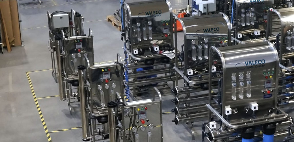 usine fabriek valeco - osmoseur osmose