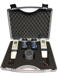 coffret de mesure ph conductivité - ph conductiviteit meetkoffer