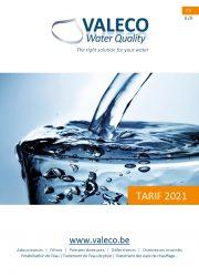 Cover Tarif FR Valeco 2021